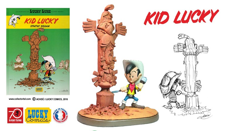 Statuette Kid Lucky