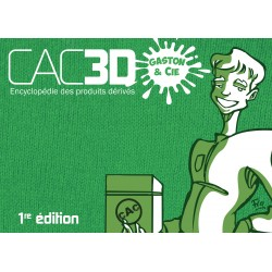 Cac3d Franquin 1re édition - Couverture Gaston & cie