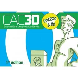 Cac3d Franquin  1re édition - Couverture Spirou & cie